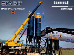 nova FABO MIX COMPACT-110 CONCRETE PLANT   CONVEYOR TYPE betonara