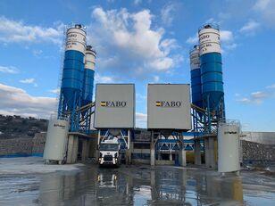 nova FABO POWERMIX-200 STATIONARY CONCRETE BATCHING PLANT betonara
