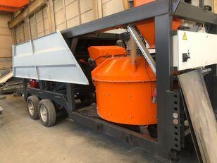 nova Plusmix MT30 : 30 m³/ hour MINI MOBILE Concrete Plant  betonara