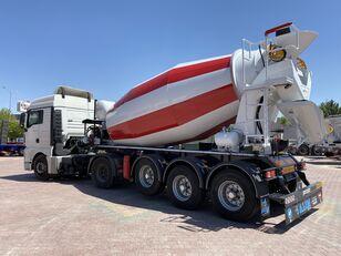 novi ALIM mixer semi trailer concrete mixer semi-trailer betonska mješalica