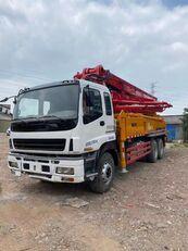 SANY 2011 renovated 37m on ISUZU 6*4 truck pumpa za beton po rezervnim dijelovima